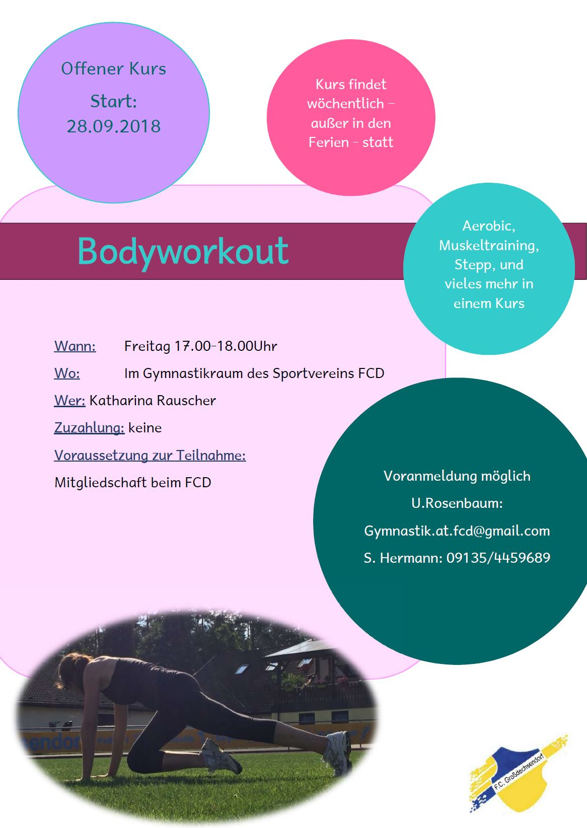 Kurs Bodyworkout 20180719